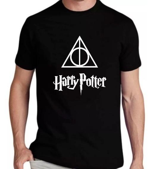 Camiseta Harry Potter E As Reliquias Da Morte