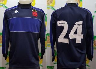 Camisa Oficial Futebol Vasco Kappa # 24 Goleiro 2000 - Rara
