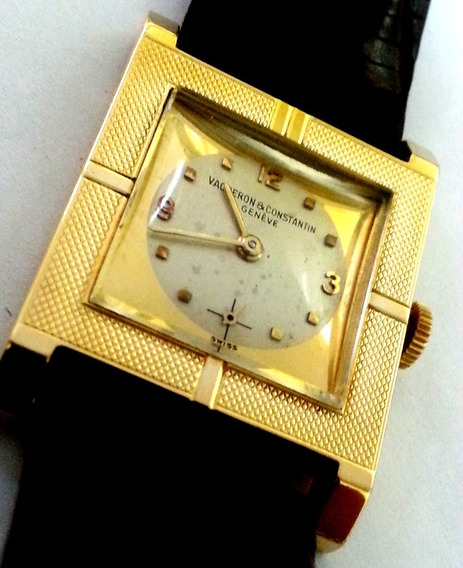 Relógio Vacheron & Constantin De Ouro 18k Modêlo Rarissimo