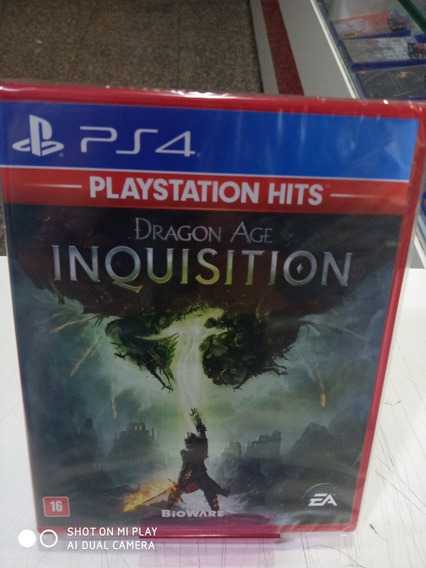 Jogo Dragon Age Inquisition Ps4 Midia Fisica Novo Português