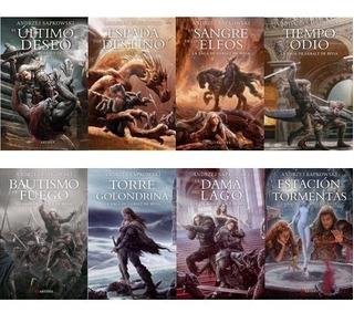 La Saga De Geralt De Rivia Completa - Sapkowski - Artifex