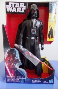 Boneco Eletrônico Hasbro Star Wars Darth Vader Rebels Novo