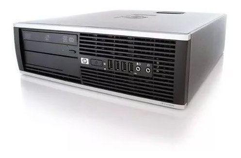 Cpu Desktop Hp Core 2 Duo E8400 8 Gb Ssd 120 Gb Rw Dvd Wi-fi