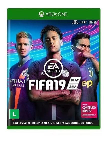Fifa 19 Xbox One Nacional Lacrado - Rj
