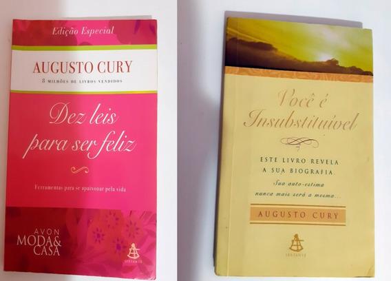 Kit 2 Livros Augusto Cury - Ed. De Bolso