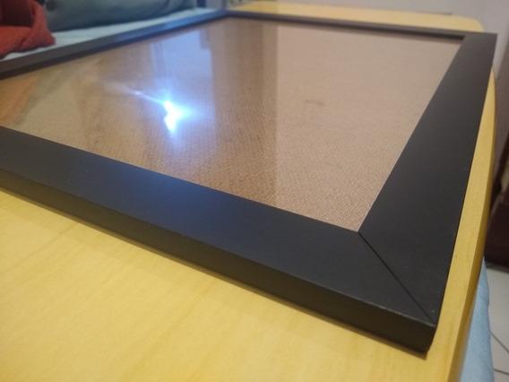 Porta Retrato A3 - Moldura Preta Com Vidro