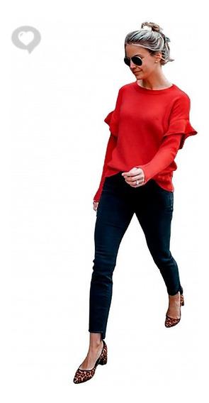 Sweater Volados Buzo - Art. Miranda - Espacio De Bellas!