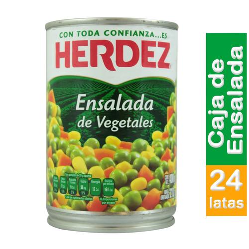 Caja De Ensalada De Vegetales Herdez 400 Gr
