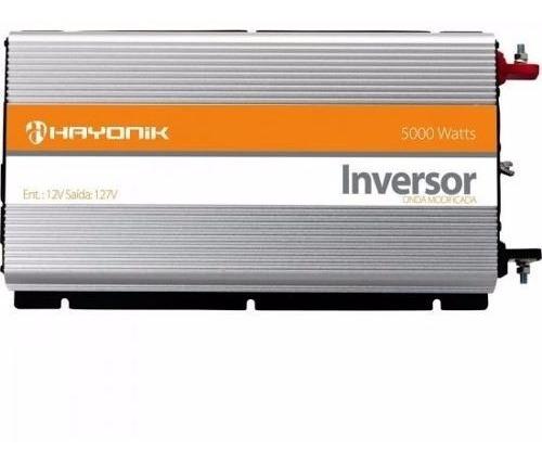 Inversor Hayonik 5000w 12v/127v Onda Modificada