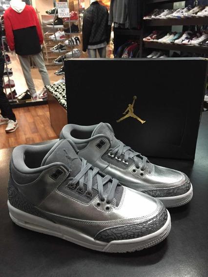 Air Jordan Retro 3 Hc Chrome Original