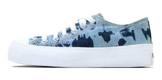 Zapatillas John Foos 752 Spot Blue Different Plataform
