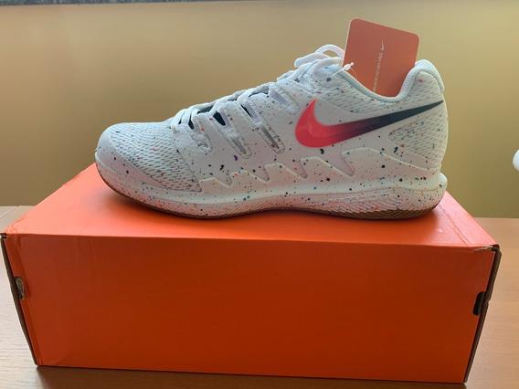 Tênis Nike Air Zoom Vapor X Hc - White/laser Crimson Blanc