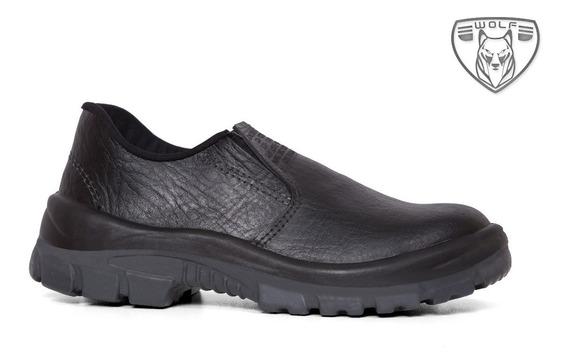 Sapato De Segurança Masculino C/bico Pvc Pé De Ferro.