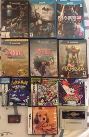 Lote De Jogos: Game Cube, Wiiu, Game Boy Advance, 3ds E Etc.