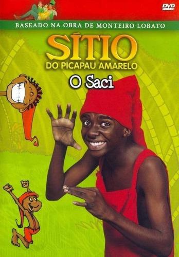 Imagem 1 de 2 de Dvd O Sítio Do Picapau Amarelo - O Saci