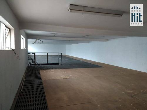 Galpão Industrial Para Locação, Ipiranga, São Paulo. - Ga0035