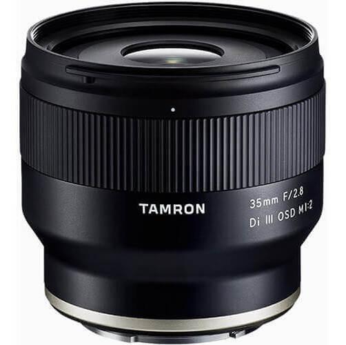 Lente Tamron 35mm F/2.8 Di Iii Osd M 1:2 Sony E-mount Com Nf