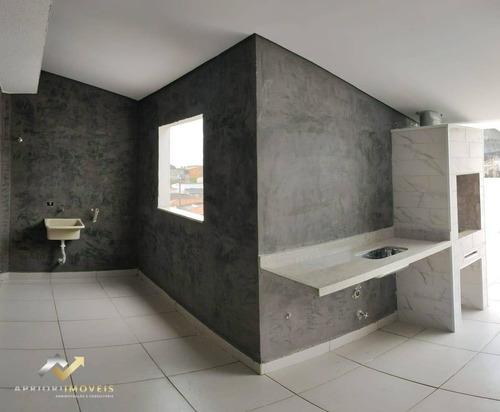 Cobertura Com 2 Dormitórios À Venda, 100 M² Por R$ 320.000,00 - Jardim Do Estádio - Santo André/sp - Co0225
