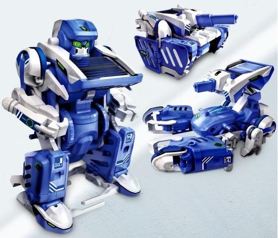 Transformer Solar Armable Tanque Robot Escorpión Juguete