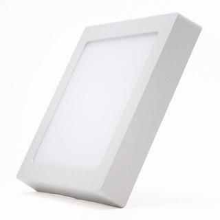 Panel Led Plafon 18w Cuadrado Luz Fría - Glowlux