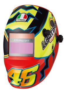 Máscara Fotosensible Lusqtoff St-46 Valentino Rossi Pce