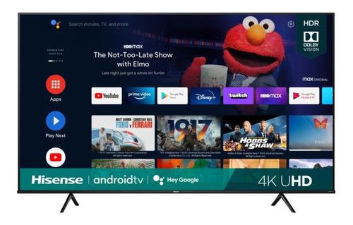 Imagen 1 de 2 de Tv Hisense 75 Pulgadas Smart Tv Uhd 4k  75a6g Android
