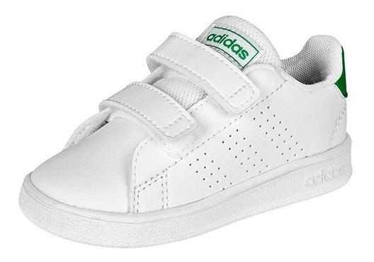 Tenis adidas Advantage I Blanco Tallas Del #11 Al #16 Bebes