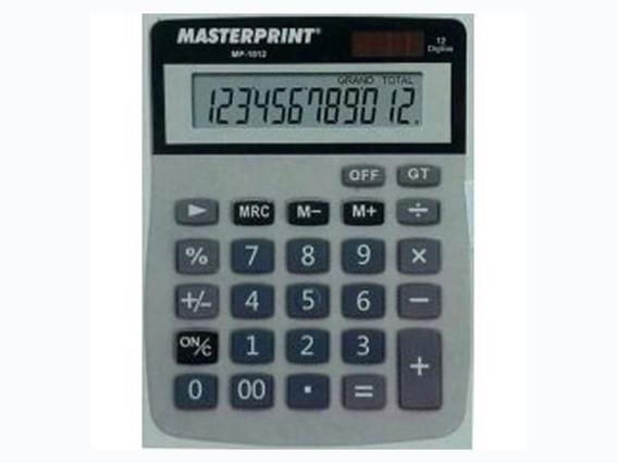 Calculadora Manual 12 Dígitos - Mp 1012