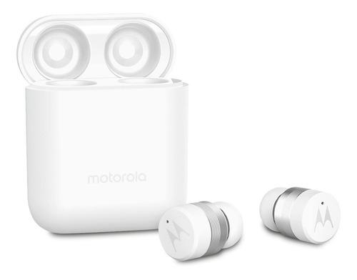 Imagen 1 de 3 de Audífonos in-ear inalámbricos Motorola VerveBuds 110 blanco
