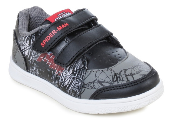 Zapatillas Marvel Casual Spiderman Niños Abrojo Hombre Araña