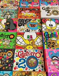 Colección Gaturro Clásica X 7 Ejemplares Promo Oficial!