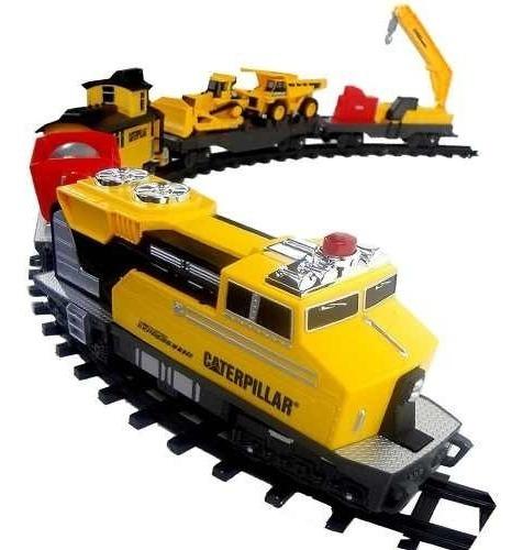 Ferrorama Caterpillar 4 Metro Trem Construção Expressa Dtc