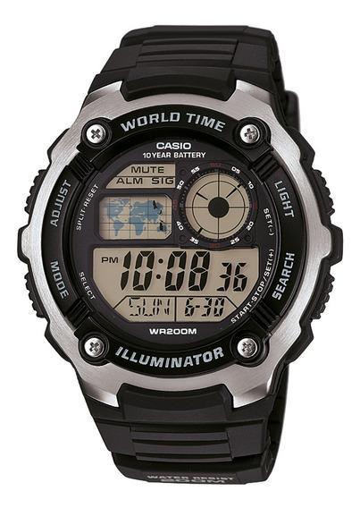 Reloj Casio Hombre Negro Ae-2100w-1avdf