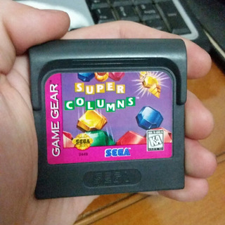 Juego Super Columns Original Para Sega Game Gear