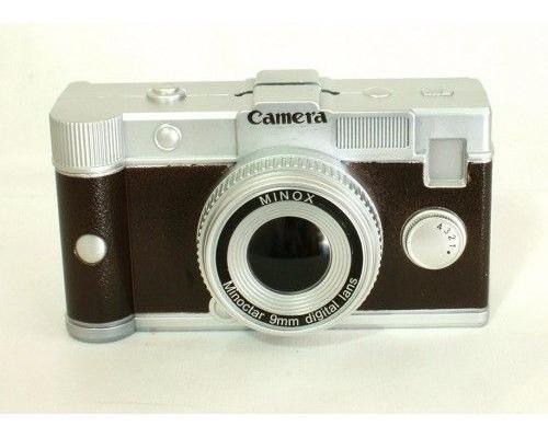 Cofre Câmera Retrô Máquina Fotográfica Photo Fotografia