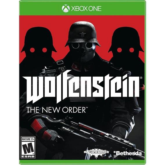 Wolfenstein The New Order Xbox One Midia Fisica Cd Original