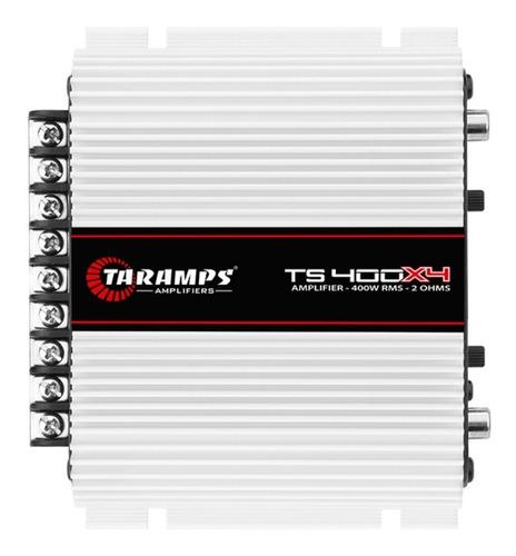 Imagem 1 de 5 de Módulo Taramps Ts400x4 Ts 400 400w Rms Amplificador 4 Canais