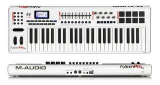 Teclado Midi Controlador Piano Keyboard M Audio Axiom Pro49