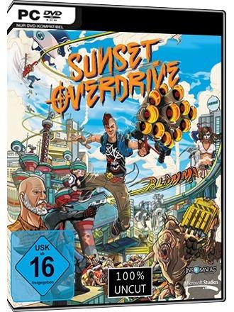 Sunset Overdrive Pc Dvd Mídia Físca Frete 8 Reais