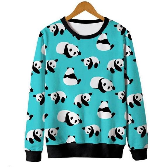 Blusa Tumblr Moletom Panda Falling Caindo Urso Fofo Cute
