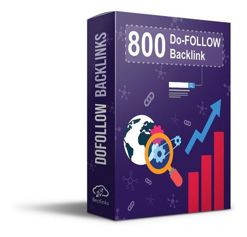 Imagem 1 de 2 de 800 Dofollow Backlinks + Indexação E Impulsionamento