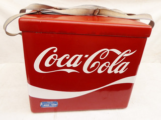 Cooler Coca Cola Antigo Em Fibra De Vidro - Não Isopor