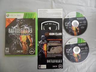 Battlefield 3 Limited Edition Para Xbox 360