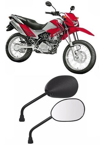 Imagem 1 de 3 de Espelho Retrovisor Par Moto Bros 150 2009 Modelo Original