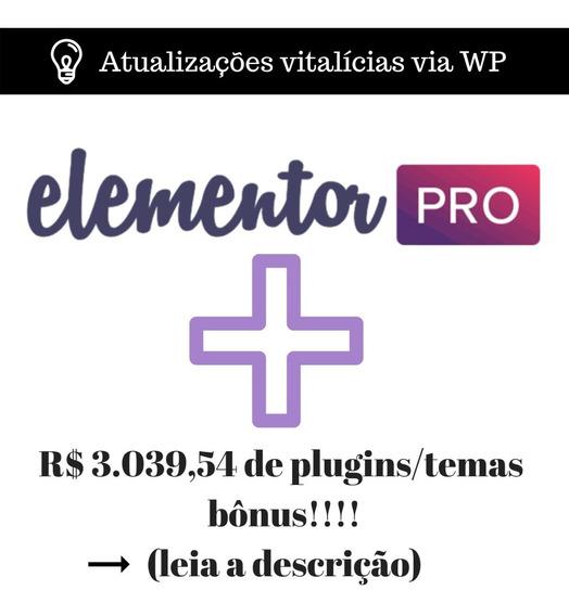 Licença Elementor Pro 2019 + Temas #envioagora