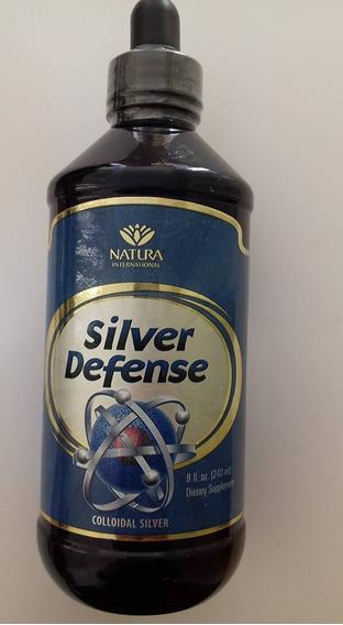 Silver Defense Plata Coloidal 8oz 240 Ml Natura Usa