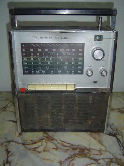 Antigua Radio Noblex 7 Mares Mod. Nt 118 Ref. 787