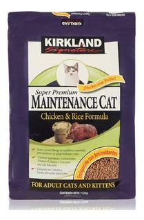 Kirkland Signature Alimento Para Gato Pollo Y Arroz De 11.3k