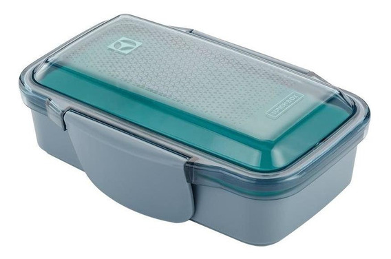 Lunch Box Electrolux Verde Com Tampa Easy-open