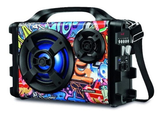 Caixa De Som Amplific. Thunder Xii Bluetooth Mco-12 Mondial